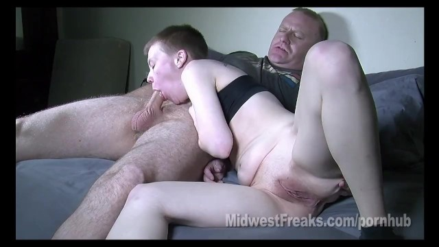 Midwest facial cumshot - Debbie the desperate dyke