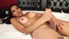Latin Shemale Kendra Tuggs her Big She Cock