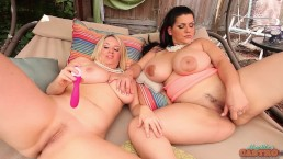 Curvy Cuban Angelina Castro Dildo Banged By Hot Maggie Green