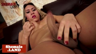 Solo tgirl pulling cock ass up face down Belly golden