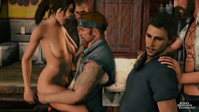 Lara croft erotic fiction Lara croft bar gang bang kawaiidetectiveenthusiast