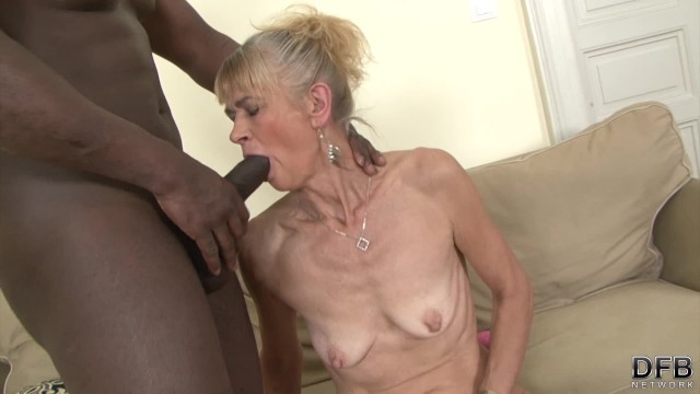 Rough granny anal - Granny fucked hard in her ass by black guy she gets creampied
