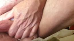 Masturbating with Sex Toy & Cum Shot