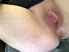 Feeding my Ftm pussy