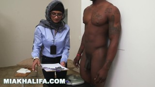 MIA KHALIFA - My Experiment Comparing Black Dicks to White Dicks Golden ginger