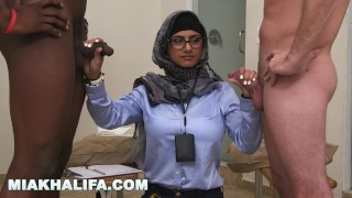 MIA KHALIFA - My Experiment Comparing Black Dicks to White Dicks porno