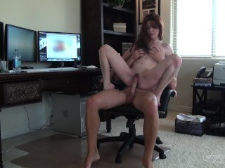 Sex married milf fucked and cumshot by my boyfriend in his studio and in the shower fran