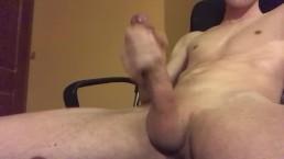BIG CUMSHOT BY HUGE YOUNG COCK