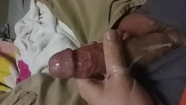 Cumming too soon. Popped as soon as the video started. Opps!