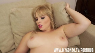 Blond Eve Fox gets tricked by the Fake Real Estate Agent into a threesome View big