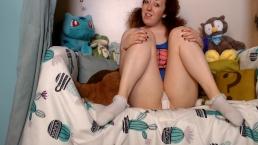 StepDad's Girl Cums in White Panties
