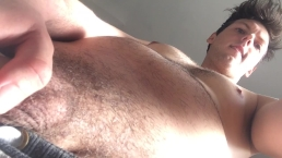 Jock Fantasizing Long Piss POV Got Hard & Wanked