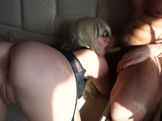 Son Fucks Mother's Best Friend Until She Squirts