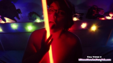 May the 4th be with you - Star Wars Toy Play and Light Saber Bating!