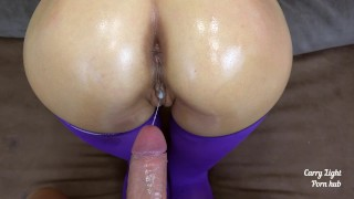 Cumshot compilation by amateur couple Carry Light ( bj, creampie ) Part 3 Mom dry