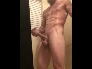 Kevin Davison solo shower