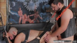 Rimmed wolf banged and covered with jizz