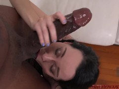 Mandingo fucks young girl Bambi Black in her First Interracial