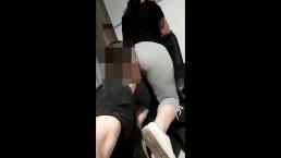 Girl farts before her poop pt3