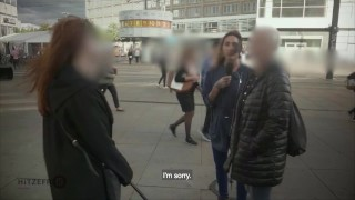 HITZEFREI German couple from street fuck on camera