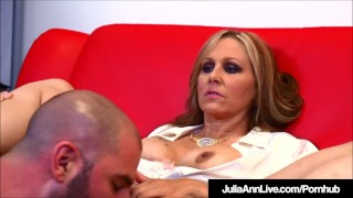 Busty Milf Julia Ann Bangs Her Student While Tutoring Him! Riding fat