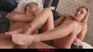 After karups spying her milf roomate deen amber masturbating fucks tits blonde