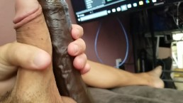 Straight Horny Guy Trys Frottage with Big Black Cock