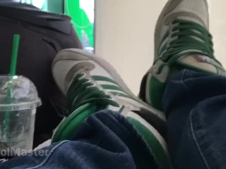 How to sit in Starbucks like a Master - Adidas Top 10