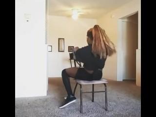 Burlesque strip tease (sex)