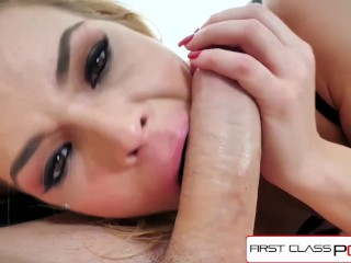FirstClassPOV – Blaten Lee take a monster cock in her throat, big booty