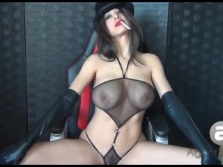 Sexy Bif Tit Bitch AgentSexyHot Smoking