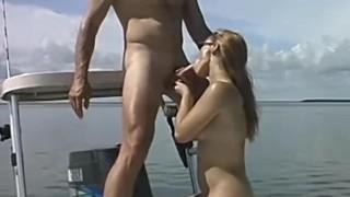 college guy fishing outdoor fucking