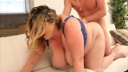 Sexy Busty BBW MILF Kimmie Kaboom