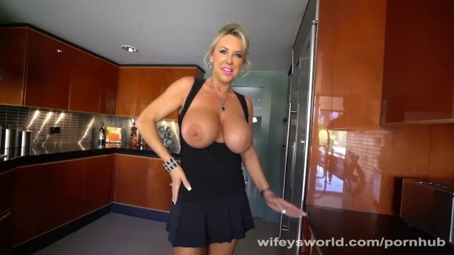 Wifeys world videos interracial Busty milf blows the repairman