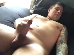 Loud Moaning Orgasm in the Morning