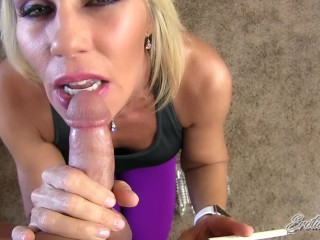 Sister In Law Handjob Erotic Nikki - Moms Bff Smokes While Giving Your First Blowjob -