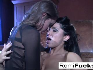 Romi Rain hot lesbian sex