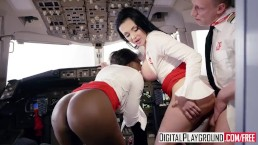 Fly Girls Final Payload Scene 3 Aletta Ocean & Jai James & Luke Hardy