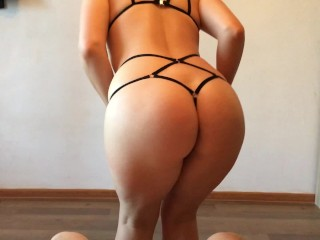 Dance, blow and fuck! My girlfriend makes me cum too early...