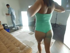BANGBROS - Latina Cam Girl Mia Martinez Gives Us A Tour Of Naked.com