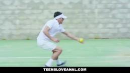 TeensLoveAnal - Busty Tennis Coach Gets Ass FIlled by Student