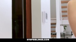 StepSiblings - Horny Step Siblings Get Caught Fucking
