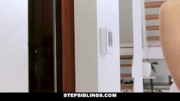 StepSiblings - Horny Step Siblings Get Caught Fucking