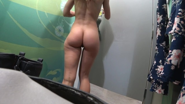 Nude changing room pictures Changing room voyeur