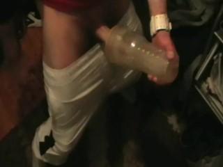 hung scally fleshlight & tenga fuck mix