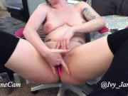 Pussy Rubbing and Finger Fucking