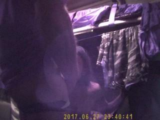 Prostitute romena on the truck 2