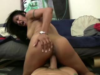Monstercock fuck's Gabby Quinteros
