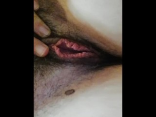 Pissing in pants - Like my hairy pussy and pee - chubby big tits amateur