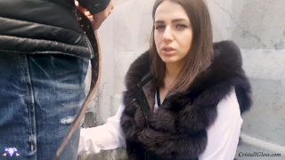 MILF Suck Strangers in Public and Fucks Doggystyle - Cristall Gloss Sperm face